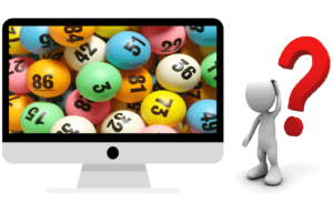 how does online lottery work
