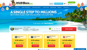 WinTrillions Landing Page