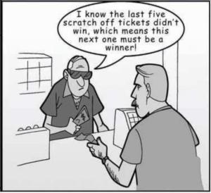 A Comic on Gambler's Fallacy