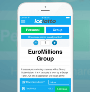 IceLotto Mobile App