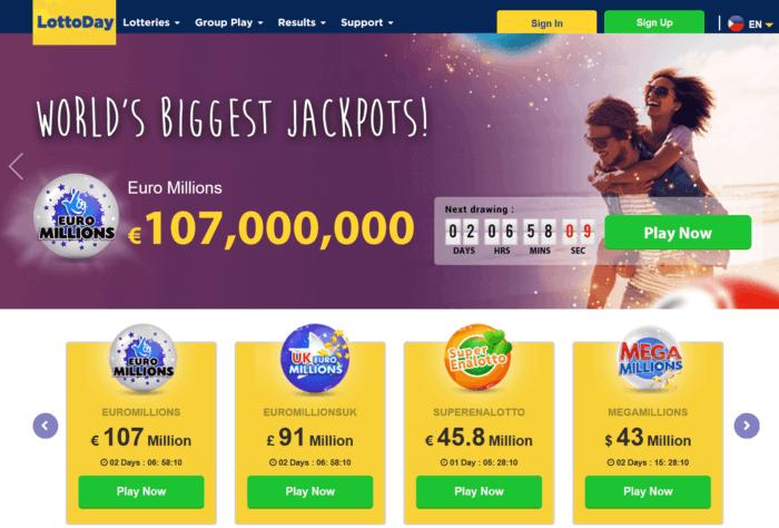 LottoDay Website