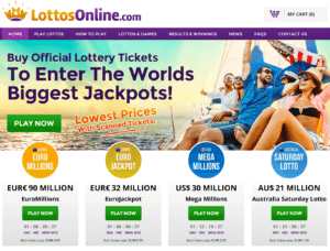 LottosOnline Website