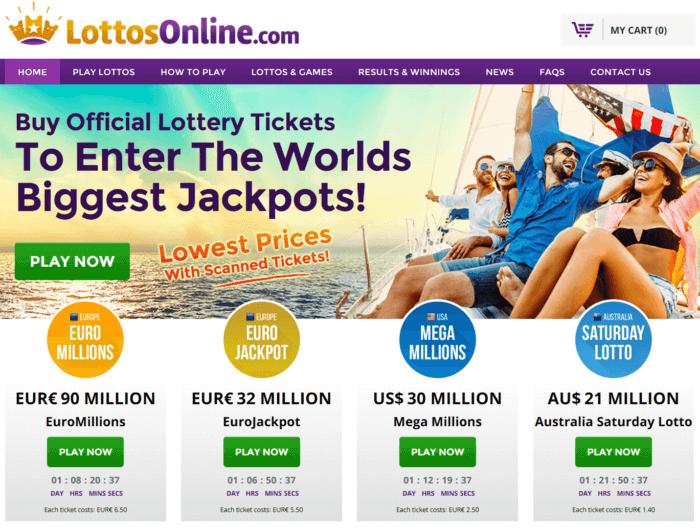 LottosOnline Website