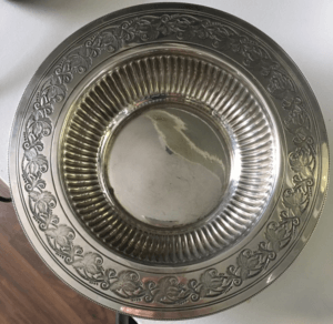 Lottery History Silver Plates