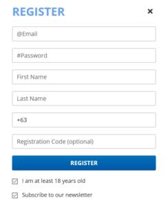 LottoPoint Registration
