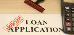 Loan Application - used her winnings to pay for a loan she took out