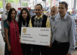 tragic lottery winner Urooj Khan