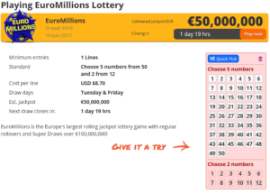 The Lottery Office Education Materials