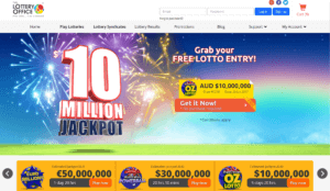The Lottery Office Website