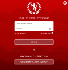 World Lottery Club Registration