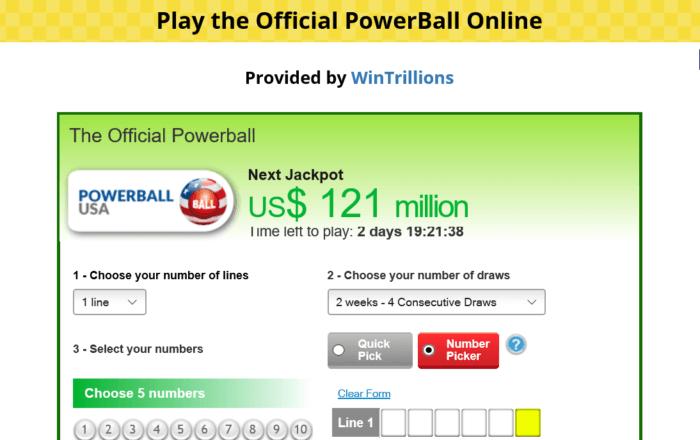 BoxLotto Powerball