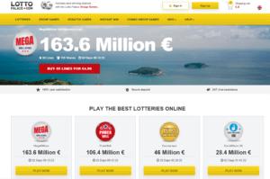 LottoPalace Website