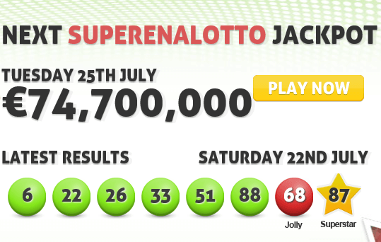 SuperEnalotto Jackpot