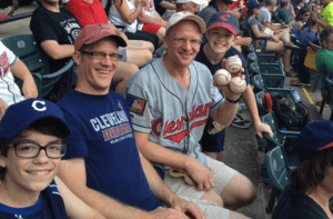Greg Van Niel Catch four foul balls