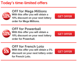 Why its better to play lottery online bonuses