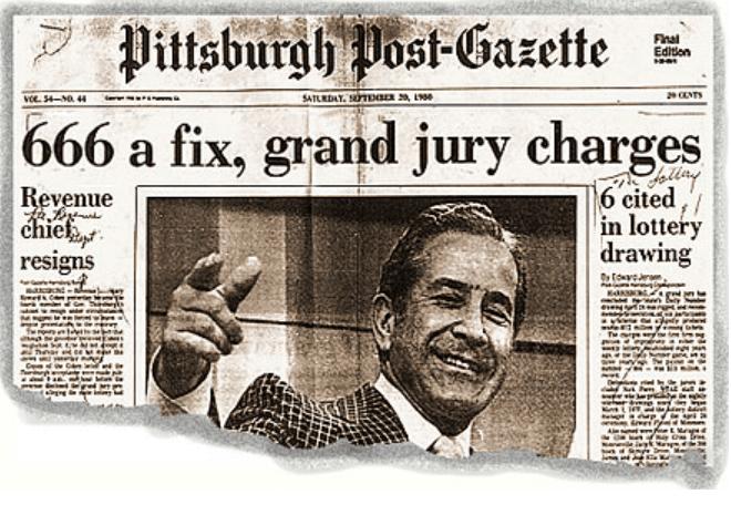 Nick Perry newspaper story