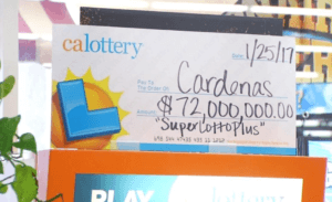 SuperLotto Plus Winner