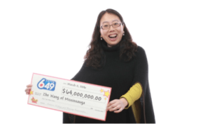 Canada Lotto 649 Winner