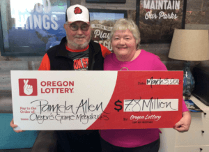 Oregon Megabucks Winner