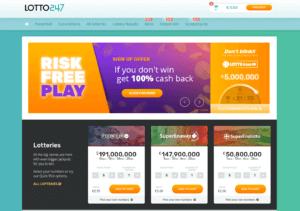 Lotto247 Website