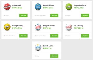 LottoPark lotteries