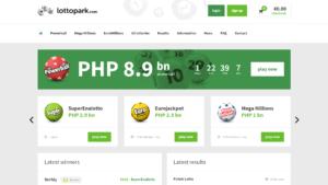 LottoPark website
