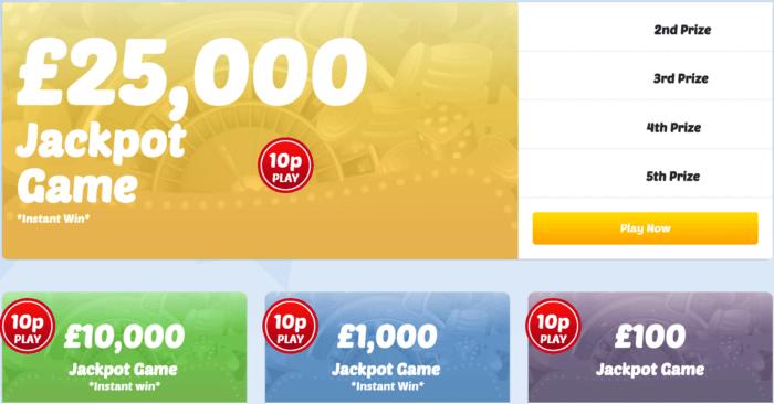 LiveLotto Games
