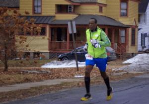Adam Osmond jogging