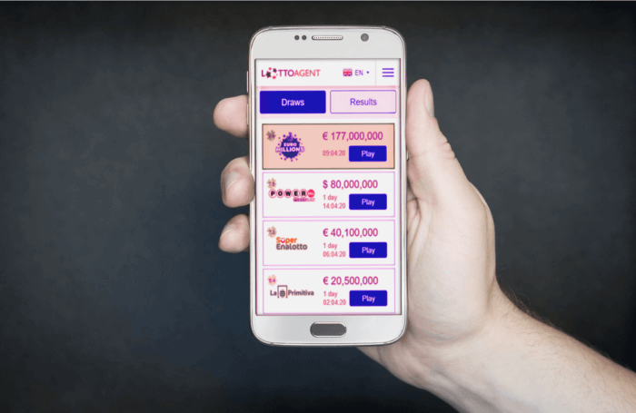 Lotto Agent Mobile App