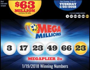 Mega Millions Results Jan 19