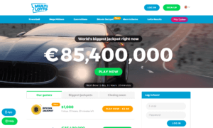 MultiLotto Homepage