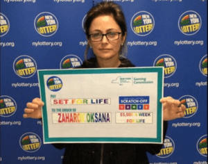 Oksana Zaharov Lottery Winner