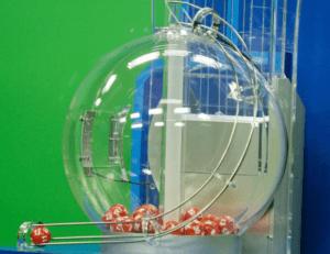 Air-Mix Lottery Machine