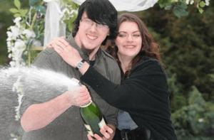 Matt Topham and Cassey Carrington - The Youngest Lottery Winners
