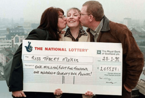 Tracey Makin - The Youngest Lottery Winners