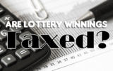 Are lottery winnings taxed?