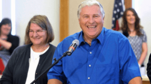 Mega Millions Lottery Winners Merle and Patricia Butler