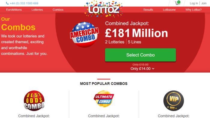 Lotto Agent vs Lottoz Bonuses Combos Lottoz