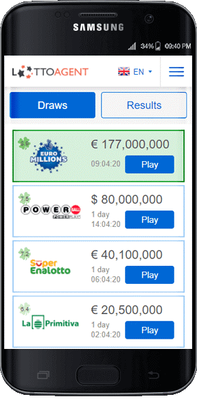 Lotto Agent vs Lottoz mobile apps