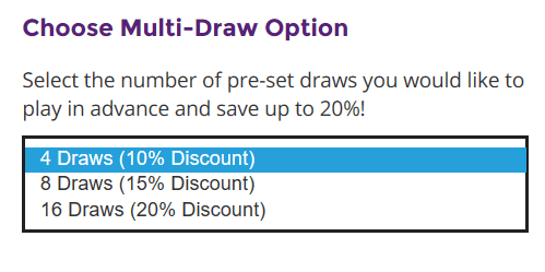 LottosOnline promotions discounts