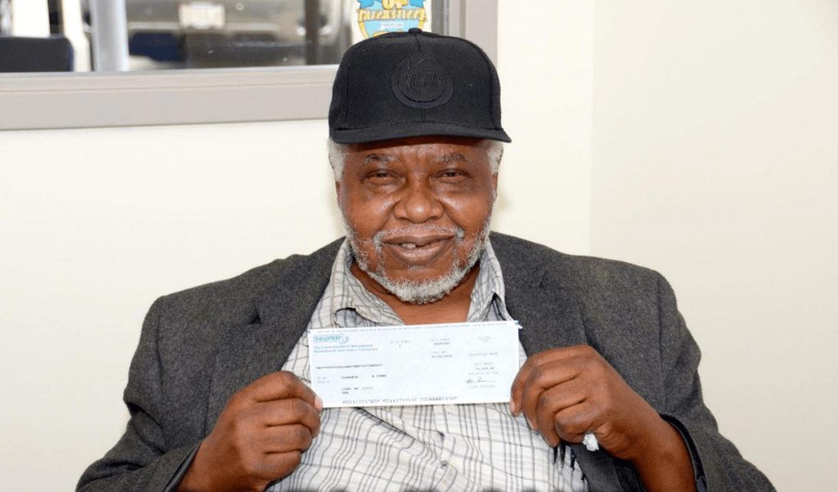 Who won lottery more than 100 times Clarance W Jones