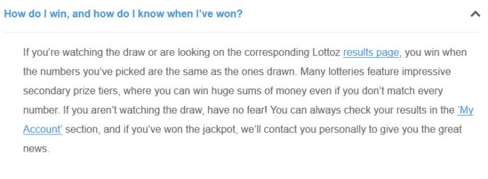 wintrillions vs lottoz claiming prizes lottoz