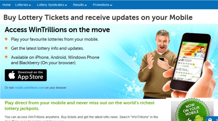 wintrillions vs lottoz mobile app