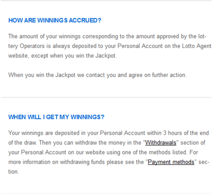 Wintrillions vs lotto agent claiming prizes at lotto agent