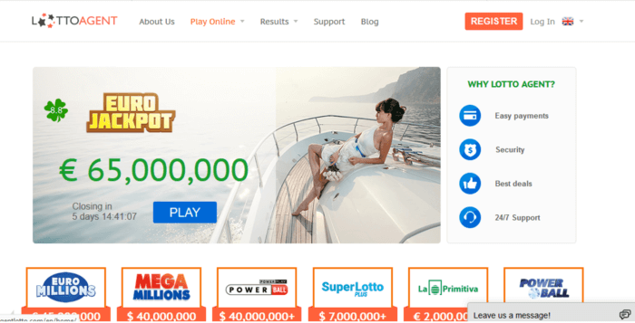 wintrillions vs lotto agent eurojackpot notification