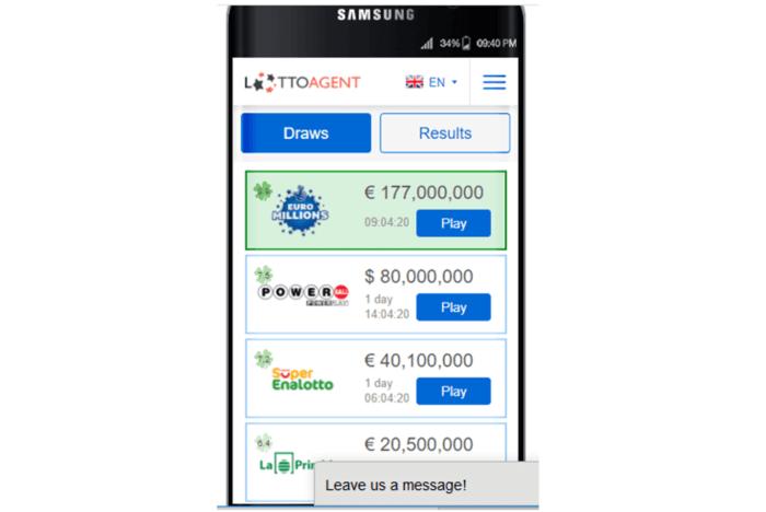 wintrillions vs lotto agent mobile app for lotto agent