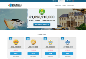 Bmillions homepage