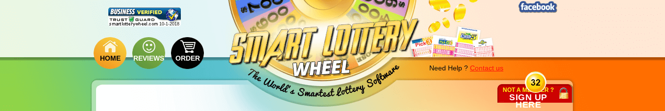 Smart Lottery Wheel website