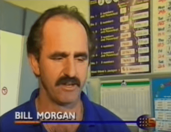 Australian Bill Morgan lottery winner