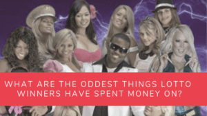 oddest things lottery winners spend on article header image